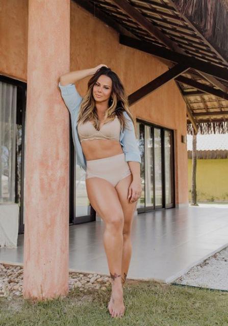 Viviane araujo já fez criolipólise na barriga e flancos